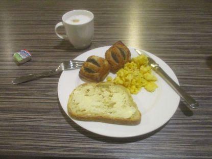 Breakfast, Garden Court Hotel, Den Haag.