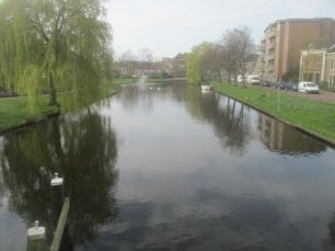The peaceful canal.