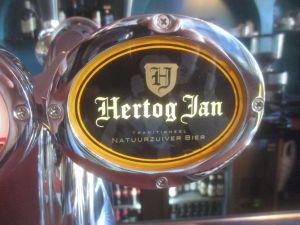 Belgian beer font in Schiedam, Netherlands.