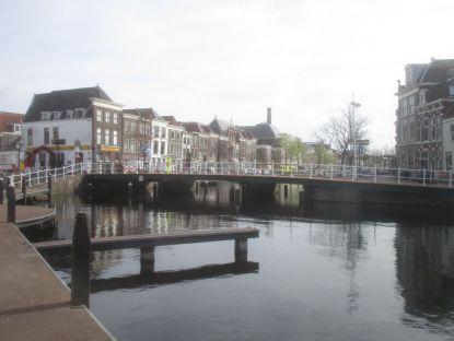 Canal Scene, Leiden.