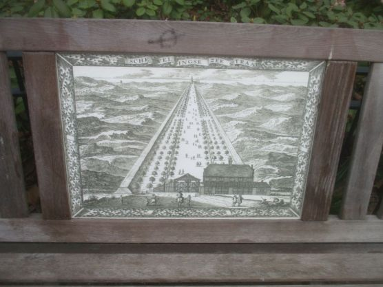Park benches, Den Haag.