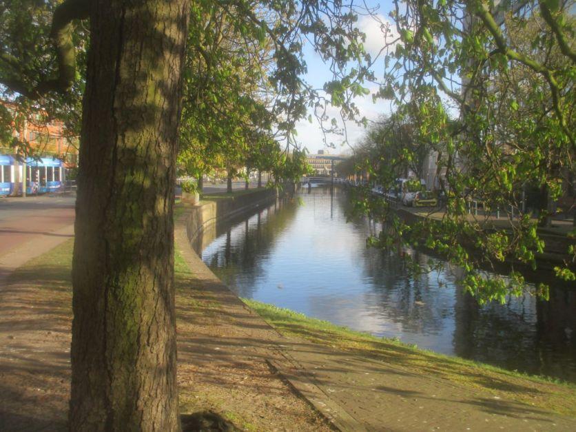 Canal Scene, Den Haag.