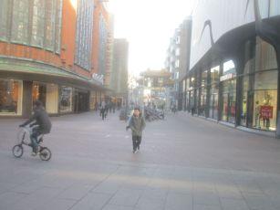Street scene, Den Haag.