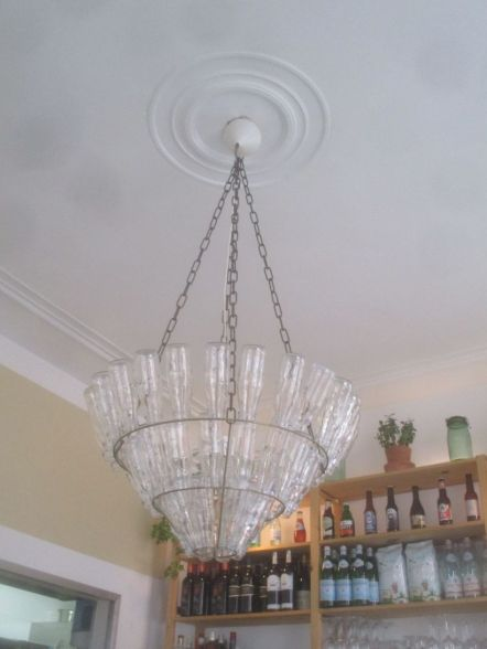"Look very closely at this ""chandelier"". How clever and appropriate is that?"