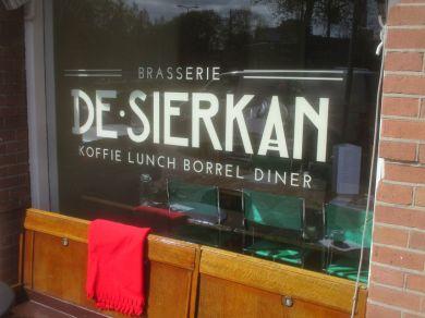 de Sierkan cafe, Den Haag.