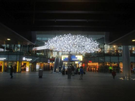 Railway Station, Den Haag.