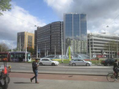 Street scene, Rotterdam.