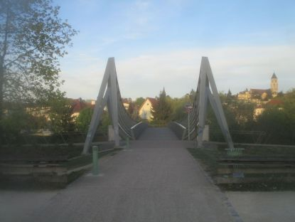 Bridge on the River Seille.