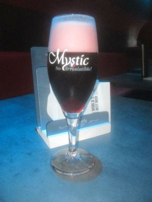 Mystic beer, mystically drinkable.