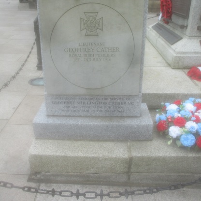 Assorted War memorials, Portdadown town centre.