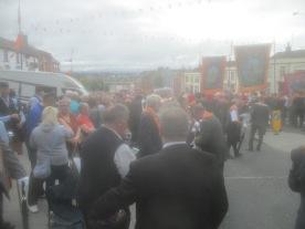 12th of July Orange Order parade 2019