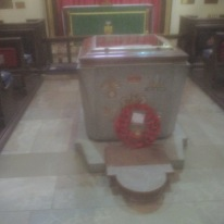 Royal Irish Fusiliers chapel, St. Patrick's Cathedral, Armagh.