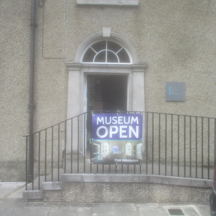 Museum at 5 Vicars' Hill, Armagh.