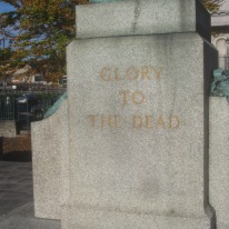 Royal Irish Fusiliers Boer War memorial, Mall, Armagh.