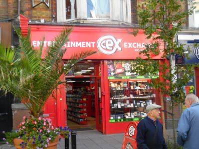 CeX entertainment exchange Ramsgate.