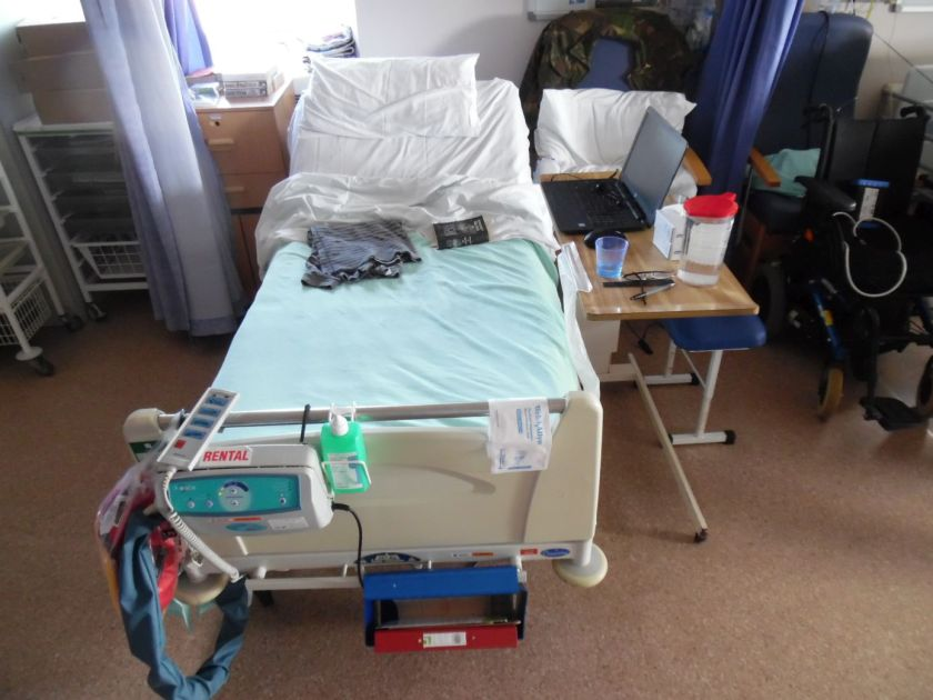 Ward scene, QEQM hospital, Margate.