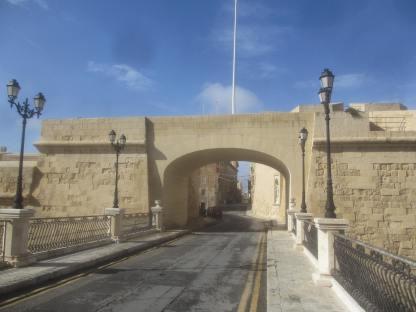 Gate of Provence, Birgu, Malta.
