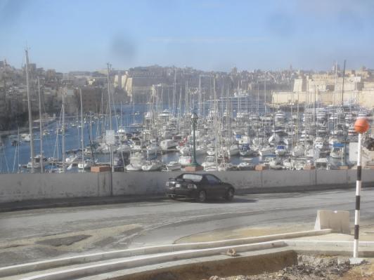 Harbour scene, Birgu, Malta.