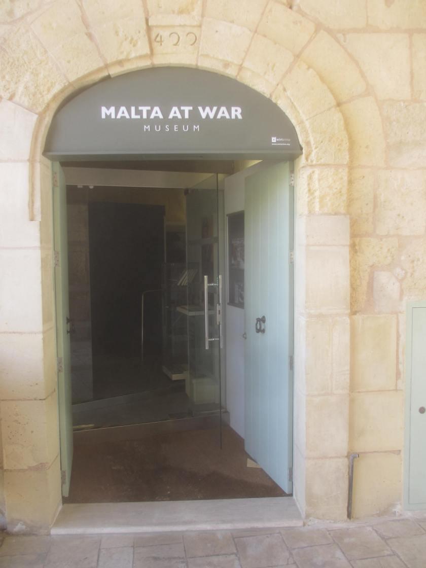 Malta at War Museum, Birgu.
