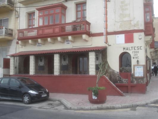 Ta Kolina restaurant, Sliema, Malta.