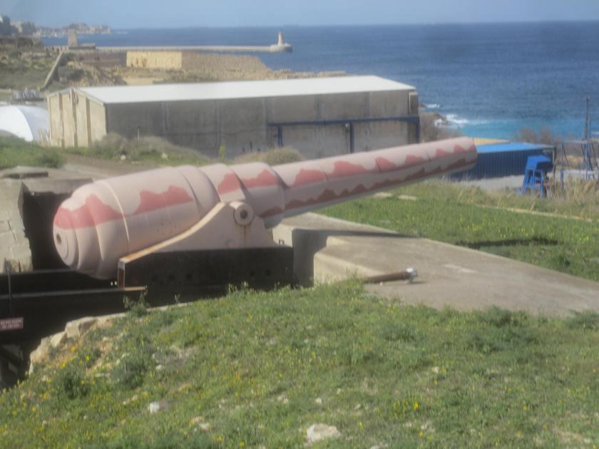 Armstrong 100 ton gun, Fort Rinella, Malta.