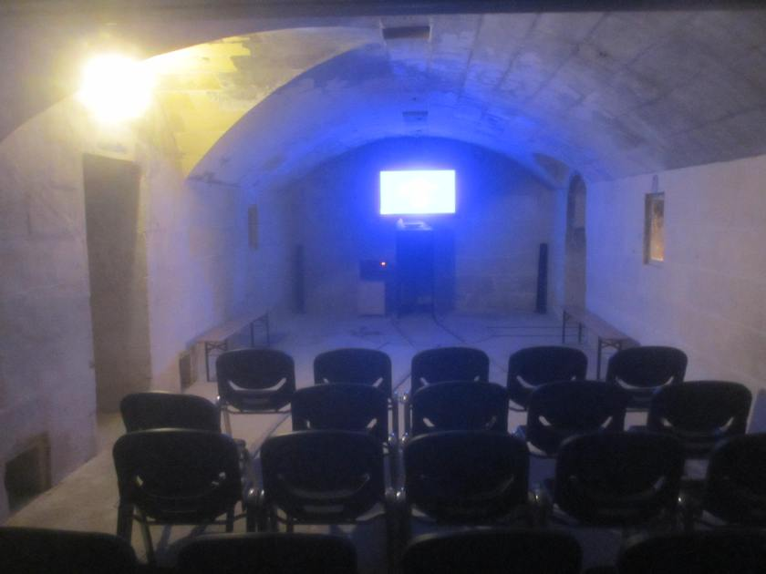 Cinema, Fort Rinella, Malta.