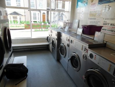 Grange Road laundrette, Ramsgate.