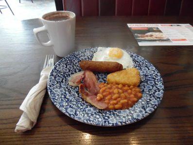 Breakfast, JD Wetherspoons, Ramsgate.