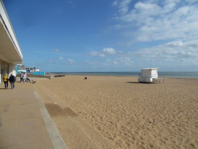 Ramsgate beach.