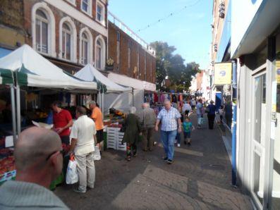 Ramsgate street market.