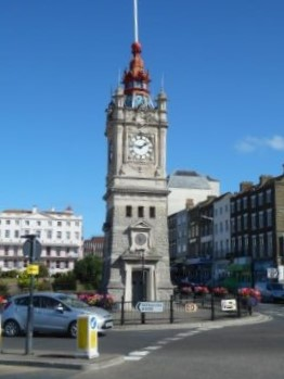 Margate clock tower.