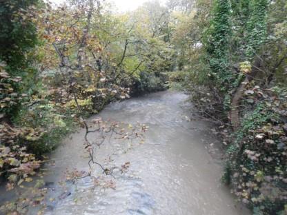 Ouseburn River.