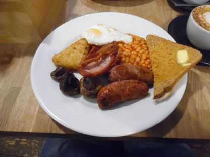 "A good old ""full English""."
