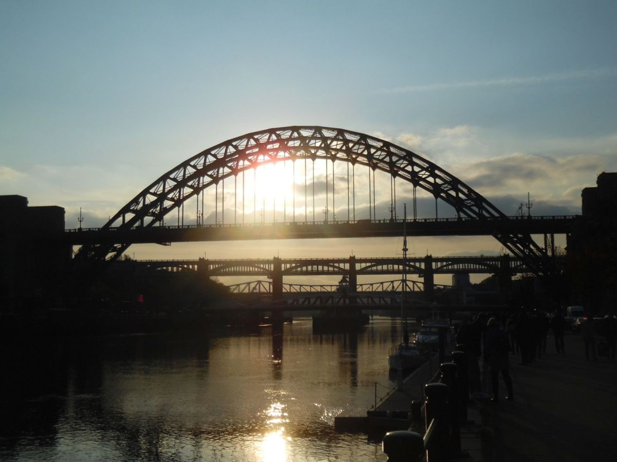 Newcastle – bridges, bridges and more bridges.